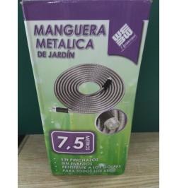 MANGUERA METÁLICA DE JARDÍN  7,5 M
