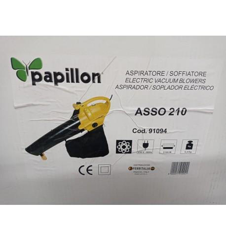 ASPIRADOR SOPLADOR  ELECTRICO PAPILLON 210